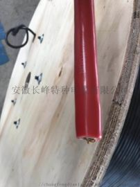 国标KGGRP硅橡胶电缆铜丝编织屏蔽控制软电缆