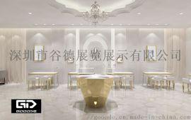 深圳柜台 珠宝展台 定制款式 钻石柜台 服饰货架