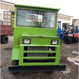 四不像十档变速断气刹五吨井下卡車坚固可靠型六轮车