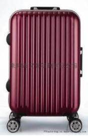 厂家现货PP拉杆箱万向轮密码锁登机旅行箱男女轻便行李箱定制代发