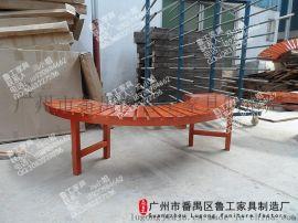 园林公园椅子长椅排椅长条椅长凳子休闲椅广场户外休息椅室外椅子