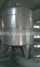 牡丹江立式卧式不锈钢储**罐 葡萄**发酵保温罐 白钢液体储存罐 贮液罐