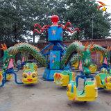公園大型旋轉大章魚遊樂設備工作原理介紹