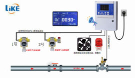 河北检测二氧化碳报警器 带声光报警器提醒 大量程