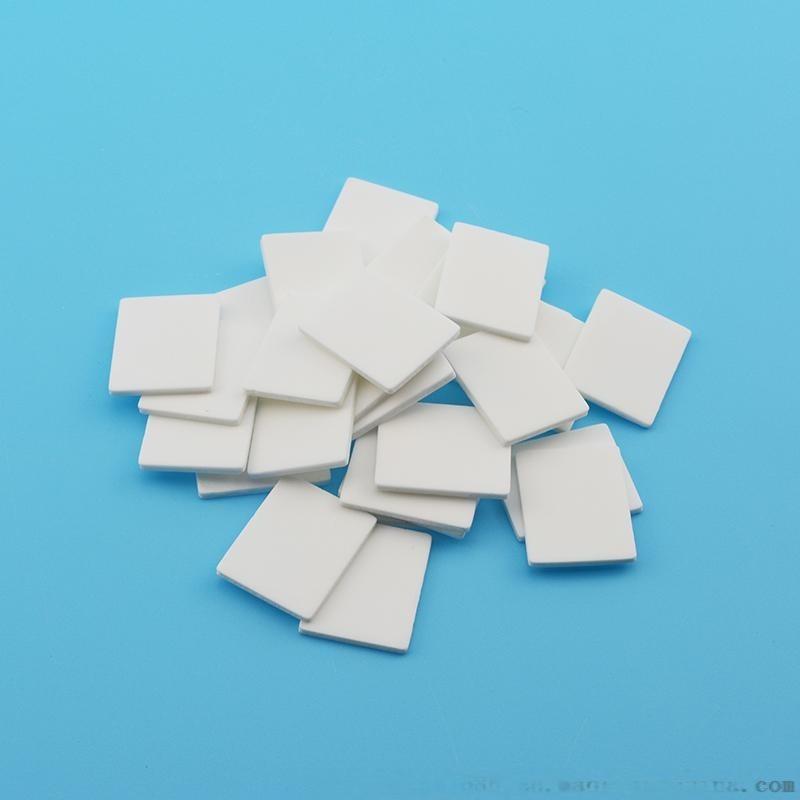 佳日丰泰TC025氧化铝陶瓷散热片陶瓷绝缘垫片绝缘陶瓷片有孔陶瓷