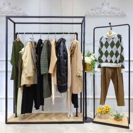 女装代理唯众良品在线女装尾货货源连衣裙女装韩版嘉兴地摊女装批发市场