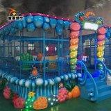 童星廠家供應歡樂噴球車公園遊樂設備