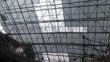 车站、  广州大空间中庭网架玻璃采光顶设计