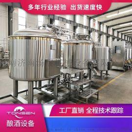 300L啤酒精酿设备发酵系统