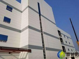 符合环保的聚氨酯封边岩棉夹芯板就是节能墙面板的未来