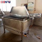 鑫富供应,薯片方形自动翻锅油炸机,薯条油炸单机
