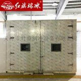 冷庫鉸鏈門 半埋雙開聚氨酯冷庫門 雙扇冷庫門