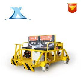 轨道检修车电动平板搬运车轻型轨检车轨道平板车双轨式钢轨探伤仪
