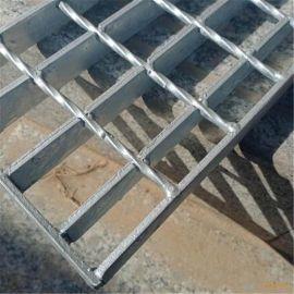 湖南热镀锌钢格板厂家供应电厂楼梯踏步钢格板排水沟盖板