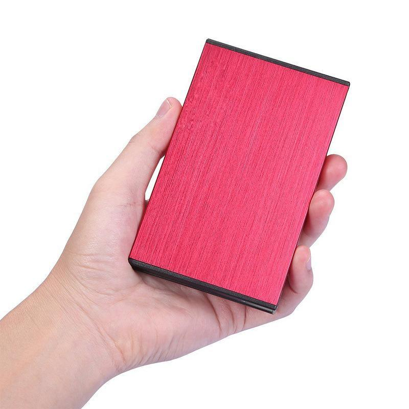 USB3.0移动硬盘盒2.5寸免螺丝 金属拉丝工艺 SSD笔记本硬盘盒子