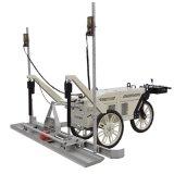 山东路得威供应升级版RWJP21B手扶混凝土激光整平机 三轮混凝土摊铺机