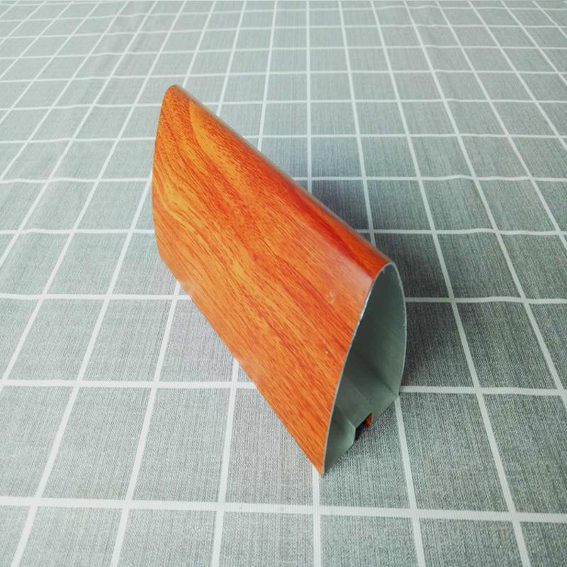 造型鋁方通廣東廠家現貨曲面滴水木紋鋁方通吊頂
