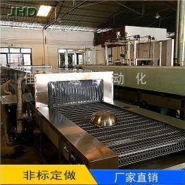 厂家定制铝材清洗机 铝材油污清洗烘干线喷淋清洗机