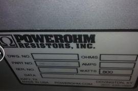 POWEROHM电阻器PF40R800W