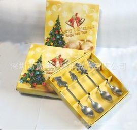 圣诞礼品 圣诞餐具 圣诞小勺