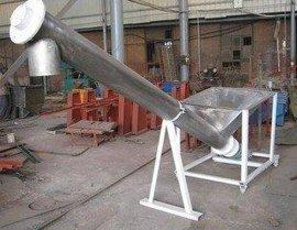 高速旋转输送机 圆管提升上料机  倾斜提升机