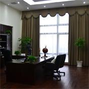 办公室窗帘,新中式窗帘,全遮光窗帘