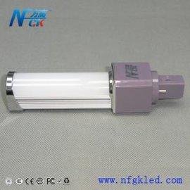 供应方高照明 6W新款LED横插灯 G24 E27灯头接口SMD5730贴片横插灯