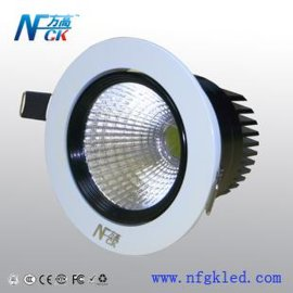 供应方高照明 COB**天花灯 7W LED天花灯 3W 5W 天花灯室内照明灯具批发厂家直销 质保三年