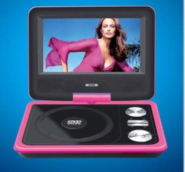 厂家直销 便携式dvd机 可批发零售 9寸 移动dvd evd电视机