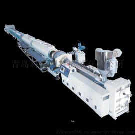 山东胶州科润塑机PE硅芯管生产线