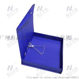 PVC磁扣档案盒 凤江202AB档案盒 抽孔档案盒