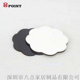 热升华转印烫画软磁性木质备忘贴留言牌冰箱贴