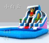大型充气滑梯/儿童移动钓鱼池/儿童移动沙滩池/水上蹦蹦床/水上步行球