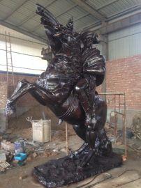 拿破仑大型雕塑 纯铜铸造 树林铜雕厂