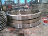 Φ1.7米非标复合肥转鼓造粒机滚圈(轮带)定制加工