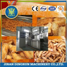 鼎润江米条机成型油炸生产线提供配方