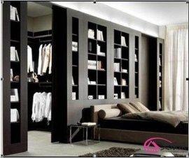 书房家具 书柜定制 实木中式新中式禅意定制现代家具