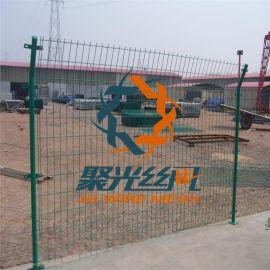 畜牧 养殖 圈地栅栏浸塑美观绿色铁丝网防护栏