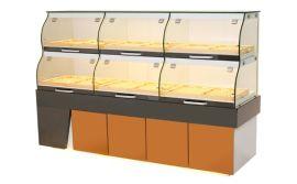 供应抽屉式面包展示柜  西餐厅点心柜  甜品柜