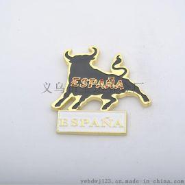 西班牙钥匙扣斗牛士冰箱贴钥匙扣厂家直销金属礼品