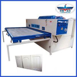 半自动横向真空吸塑机 真空覆膜机 PVC膜吸塑机 木门橱柜门生产设备