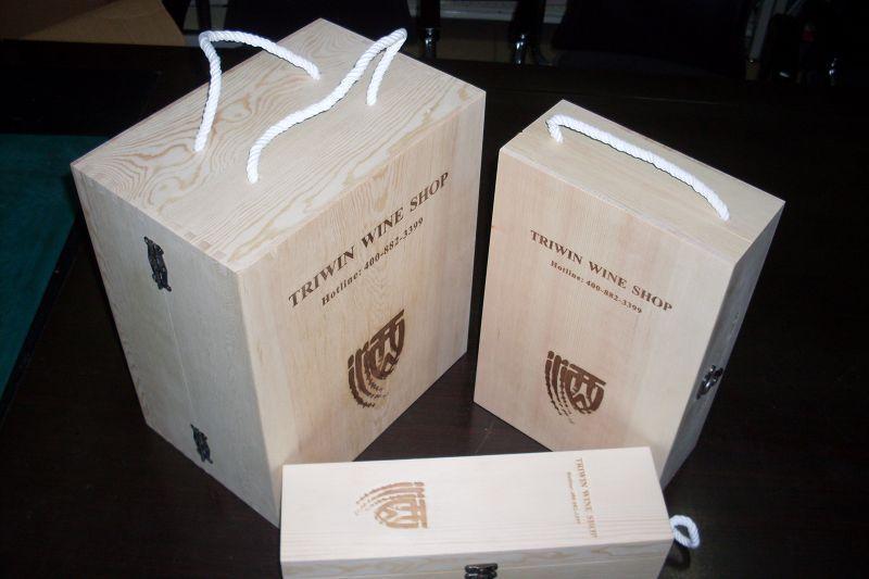 6支裝紅酒木盒