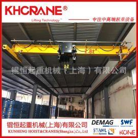 5吨动单梁悬挂起重机2t单梁起重机欧式起重机电动葫芦桥式行车