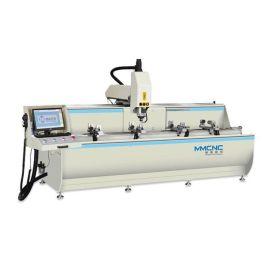 山东明美 工业铝型材双头切割锯 铝工业型材切割机 工业铝切割锯