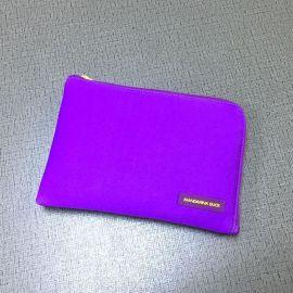厂家定制帆布笔袋收纳袋手机袋化妆洗漱收纳包铅笔袋画笔收纳袋