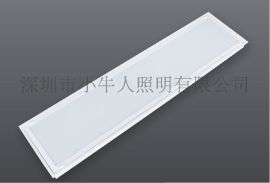 嵌入式300*1200一体化LED胶片灯盘4*12W乳白灯盘