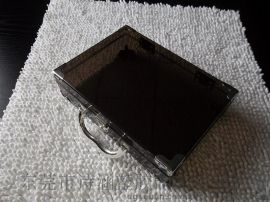 可提供 SH-6431高透明包护角 手提式塑料盒 化妆品包装专用