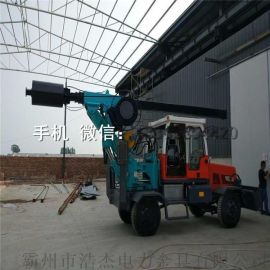 直径1米2 路面 轮式挖机钻洞机小型 轮式挖机钻桩机