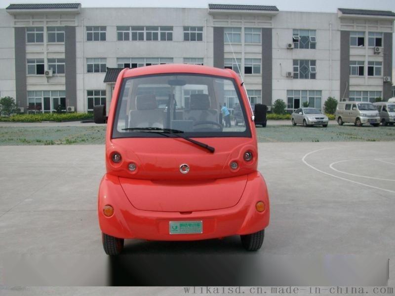 景區專用5座電動觀光車,房產看房四輪電動車