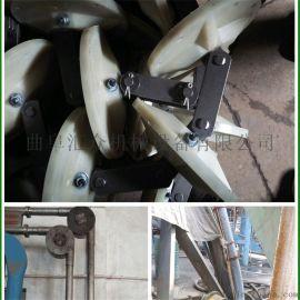 耐高温不锈钢物料提升机 粉料管链式提升机